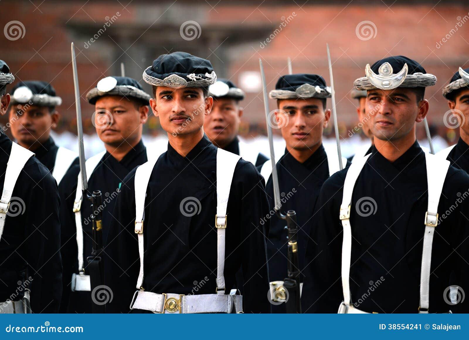 Armée royale de Nepali à Katmandou