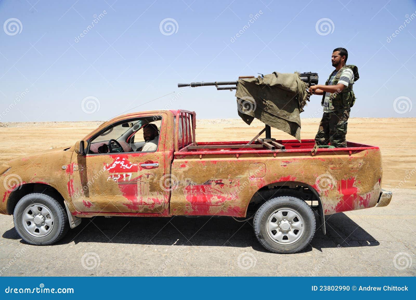 Armén frigör libyerer
