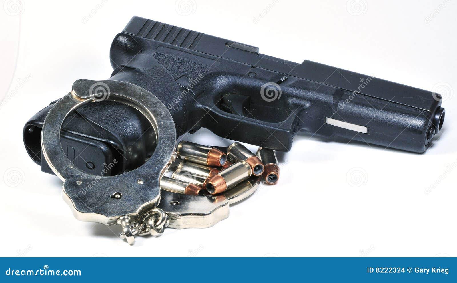 Arma de mano con las manillas