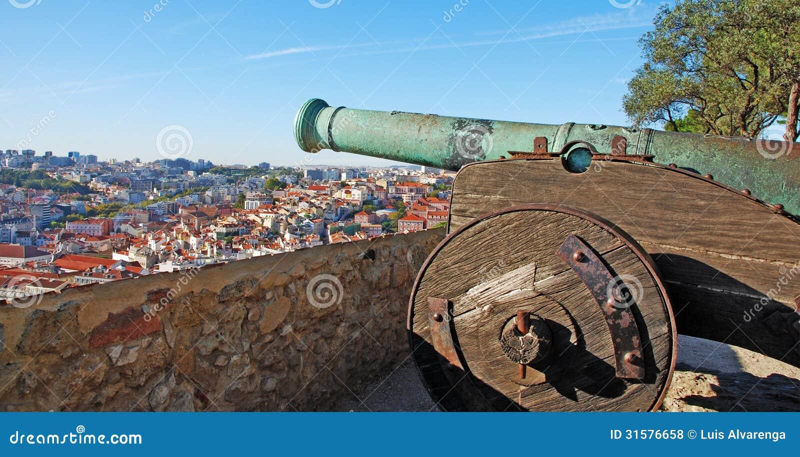 Arma del cannone fotografia stock immagine di scena - Arma letale scena bagno ...