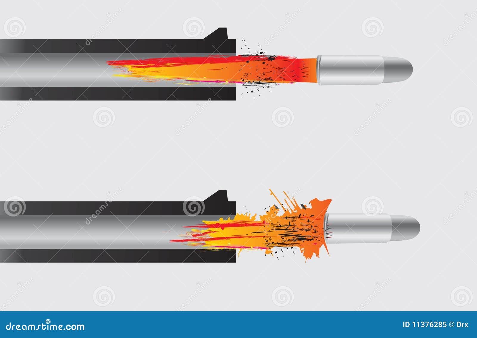 Arma que enciende el punto negro