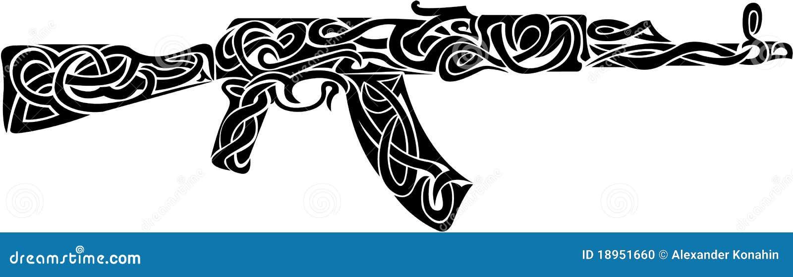 Arma tribal ilustración del vector. Ilustración de ... - photo#5