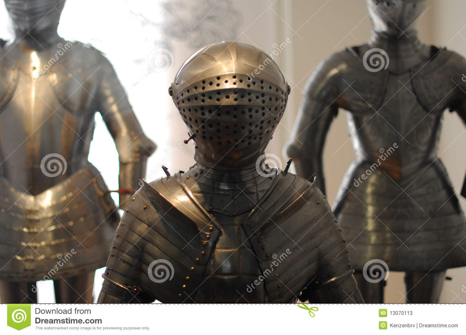 Armadura do cavaleiro