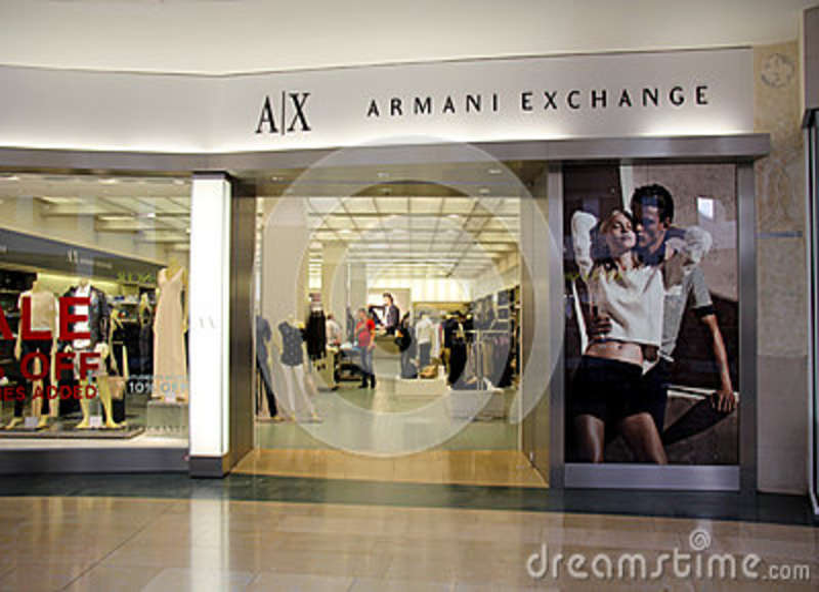 Armani Exchange Store Editorial Photography - Image: 42765157