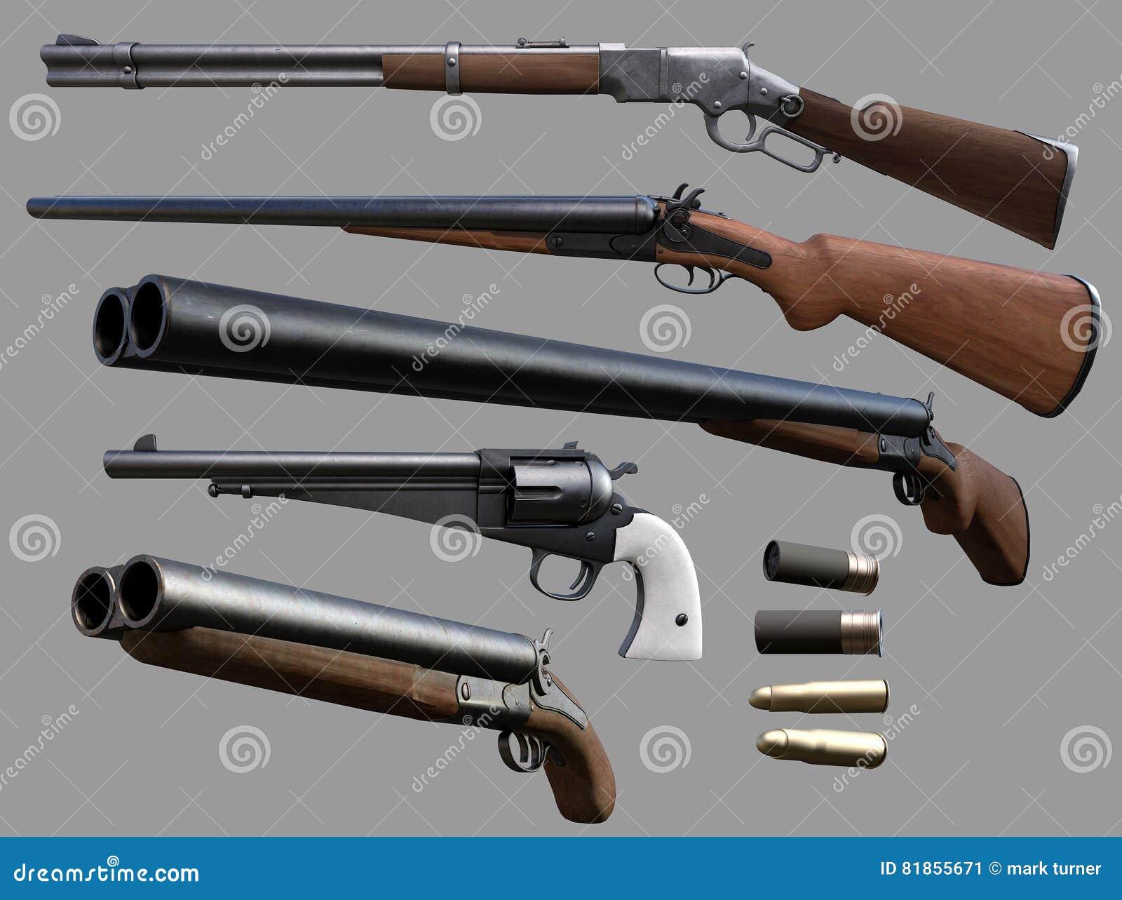 Armas del vaquero