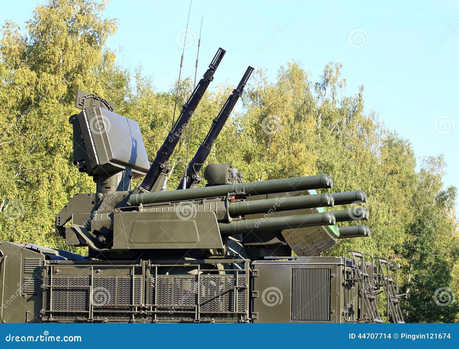 Armas do sistema de defesa antiaérea