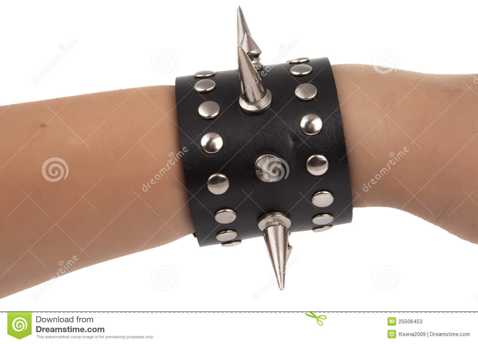 Armband isolerade piggar