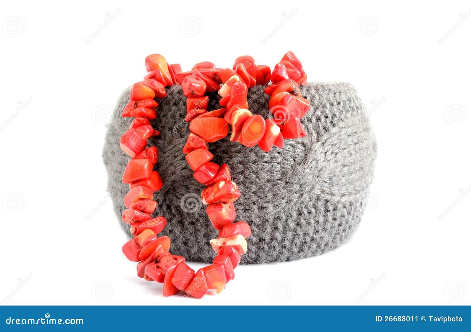 Armband- och korallpärlor
