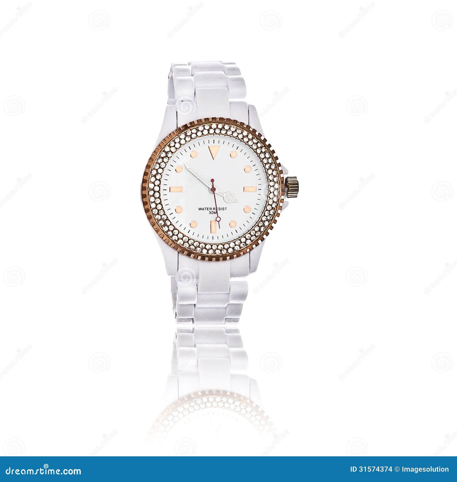 Armbanduhr der weißen Frauen