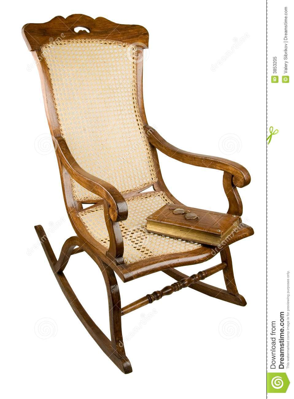 People In Rocking Chairs ~ Armchair rocking chair royalty free stock photo image