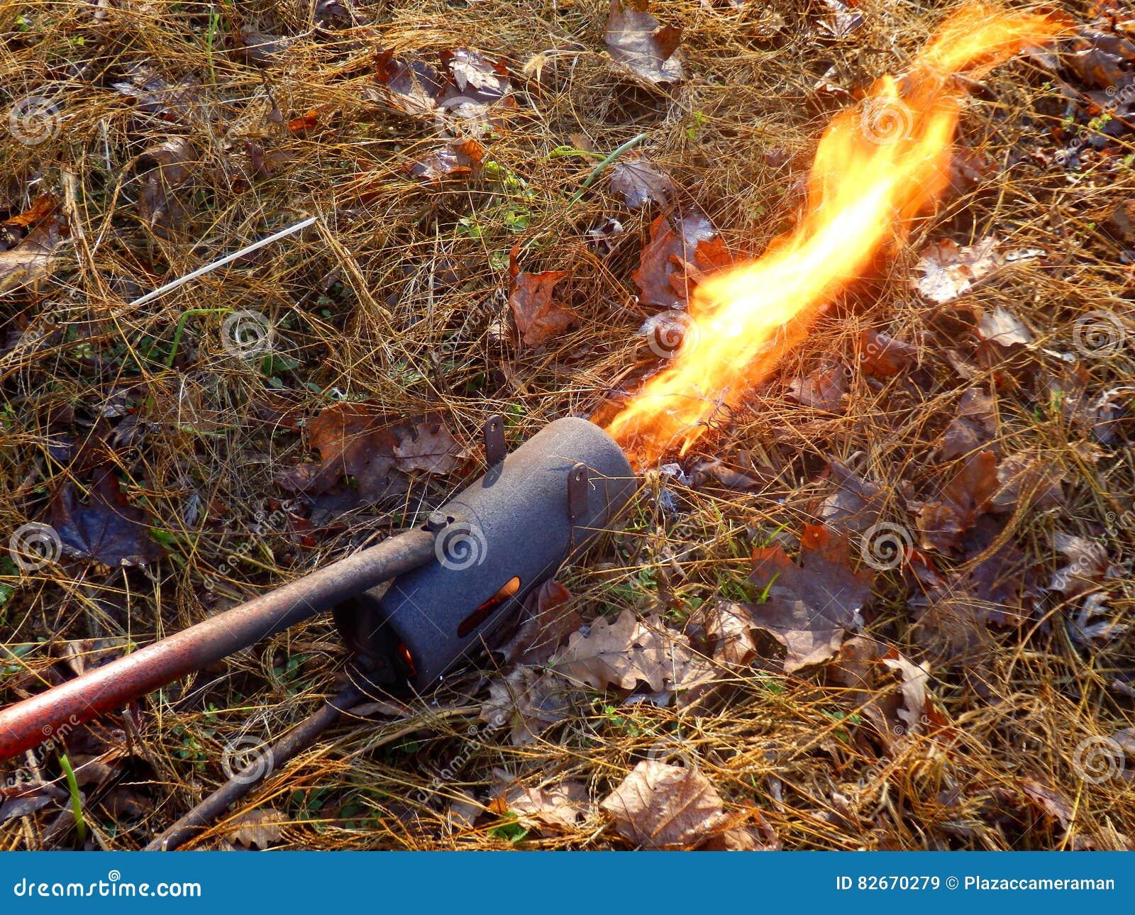 Arme à feu de flamme ou lanceur de flamme