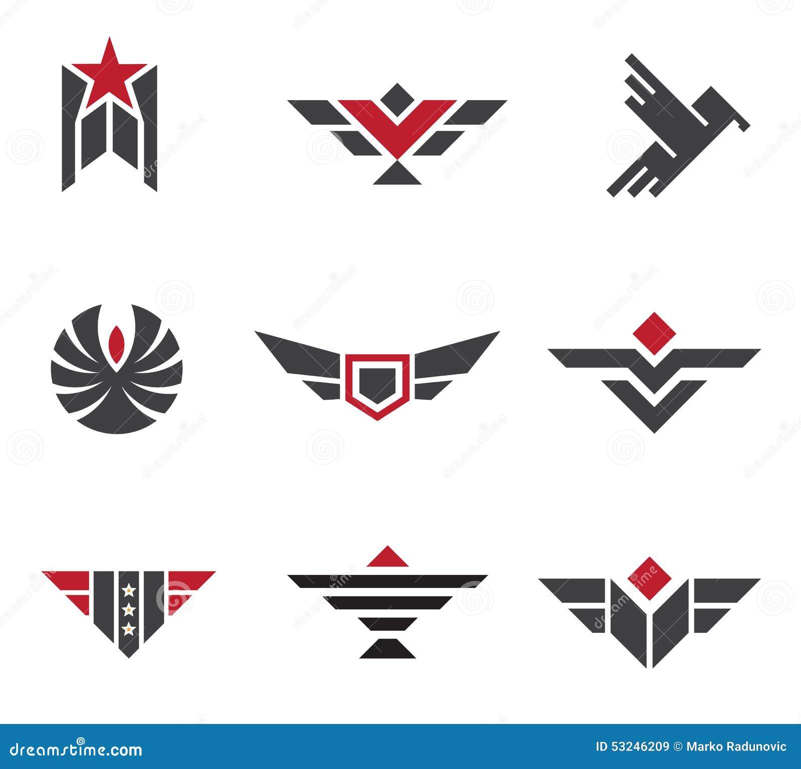 arm e et insignes et symboles militaires de force illustration stock image 53246209. Black Bedroom Furniture Sets. Home Design Ideas