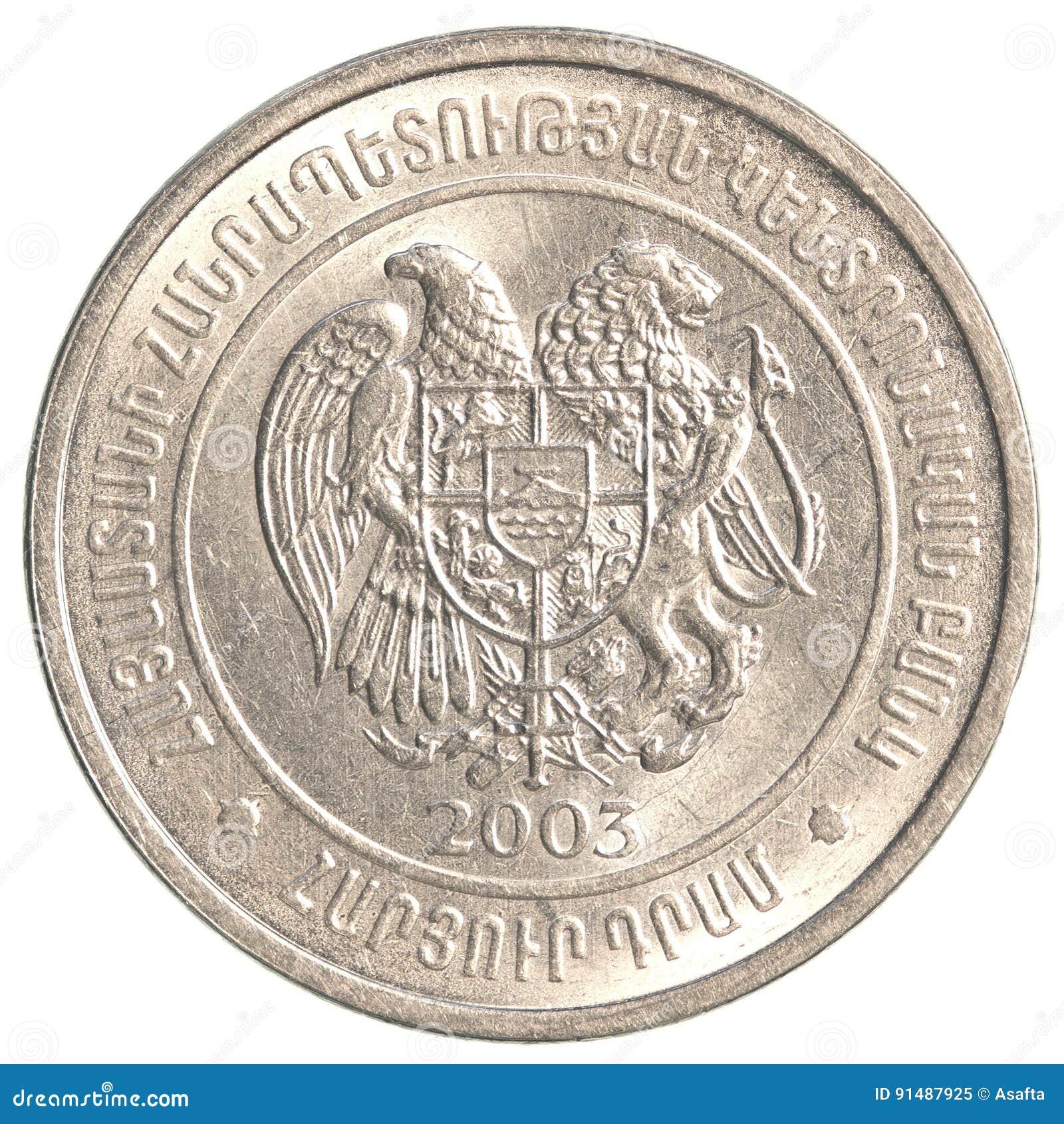 100 Armenian dollars coin