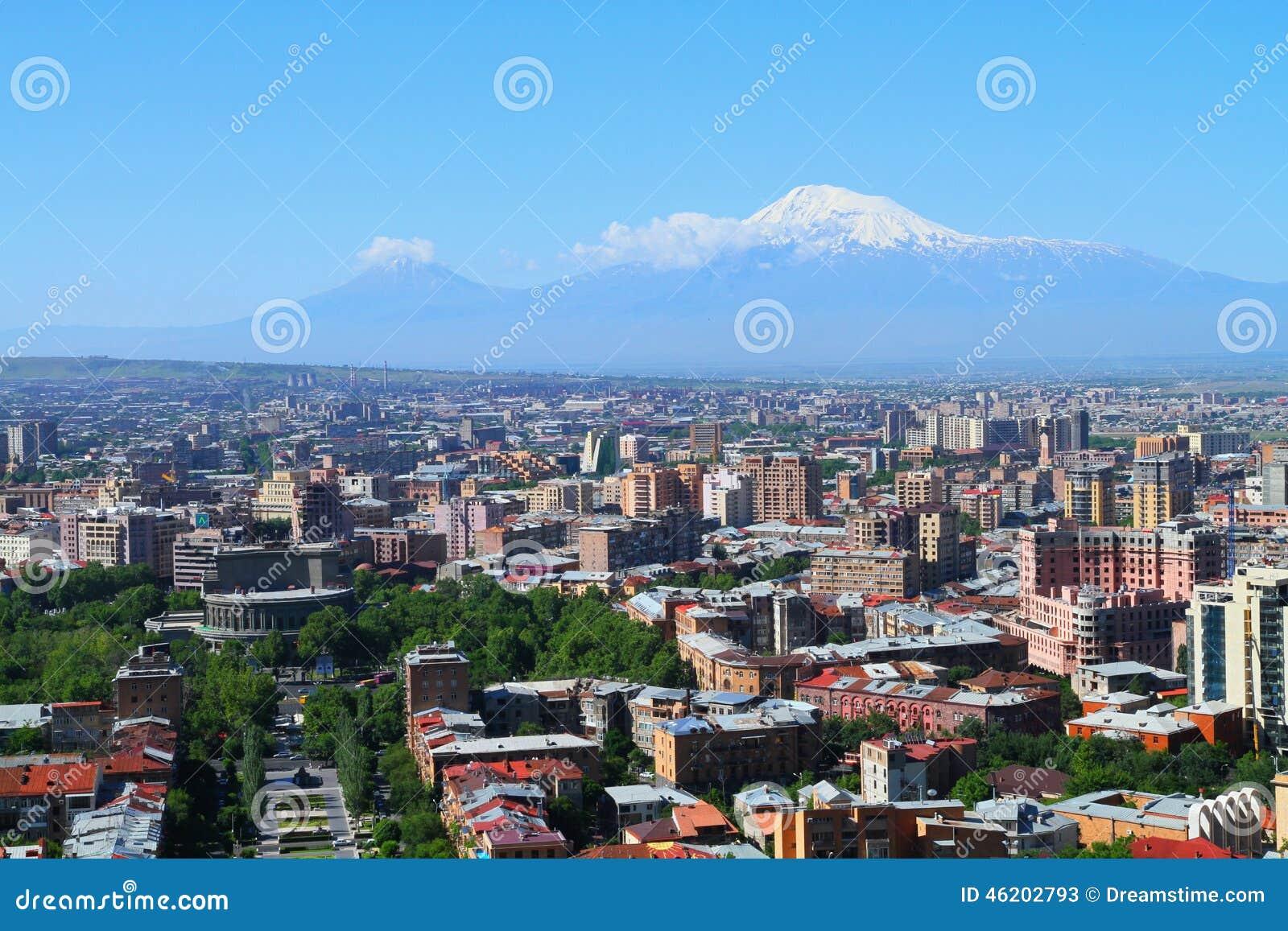 Armenien Eriwan Stockbild Bild Von Hintergrund Himmel 46202793