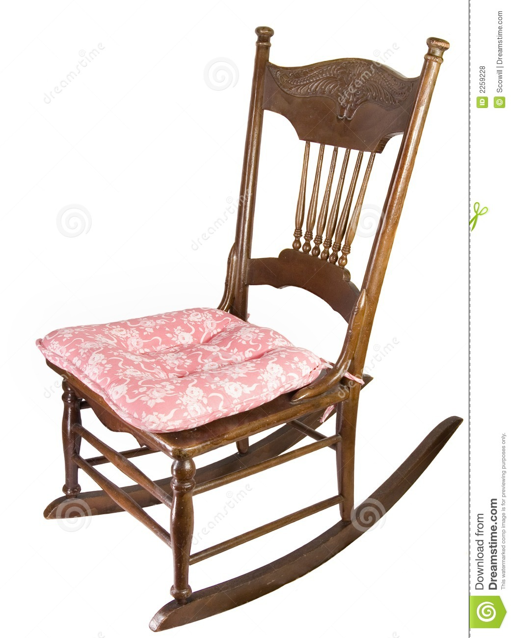 Armless Rocking Chair Royalty Free Stock Photos - Image: 2259228