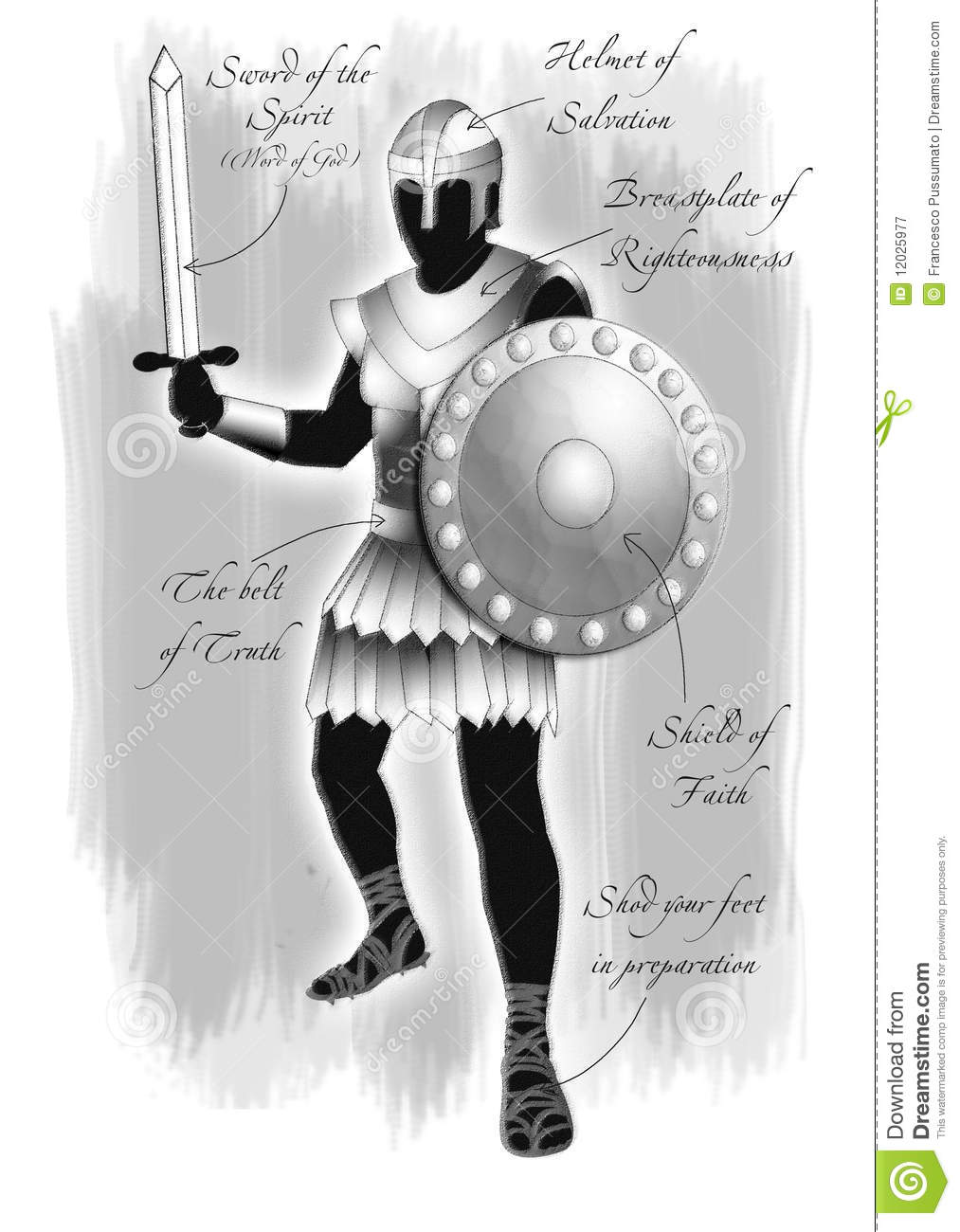 armor of god royalty free stock photography image 12025977