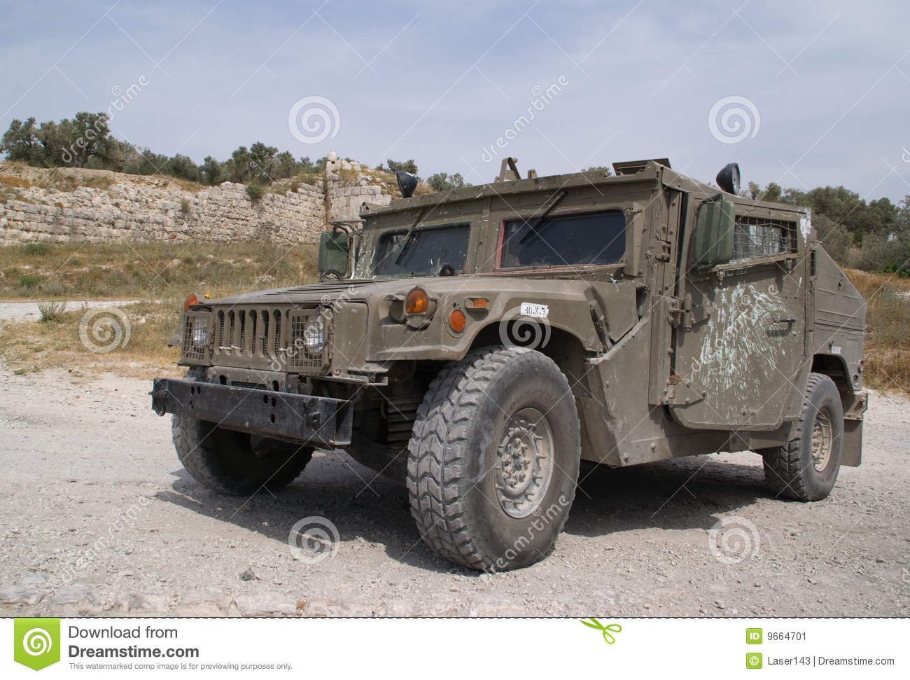 The armored jeep stock image. Image of armored, strategy ...