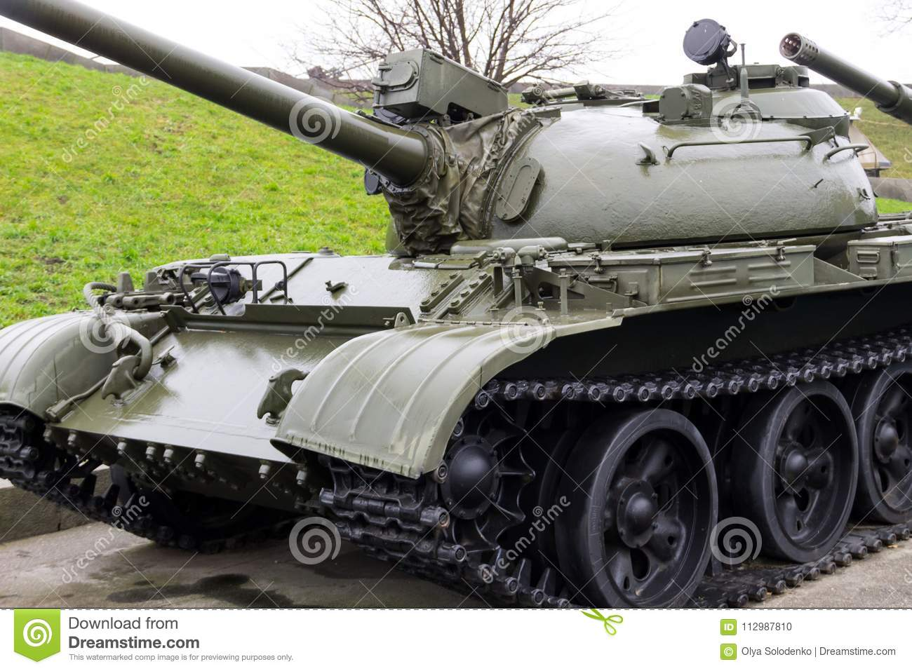Armored tank in National Museum of the History of Ukraine in the Second World War