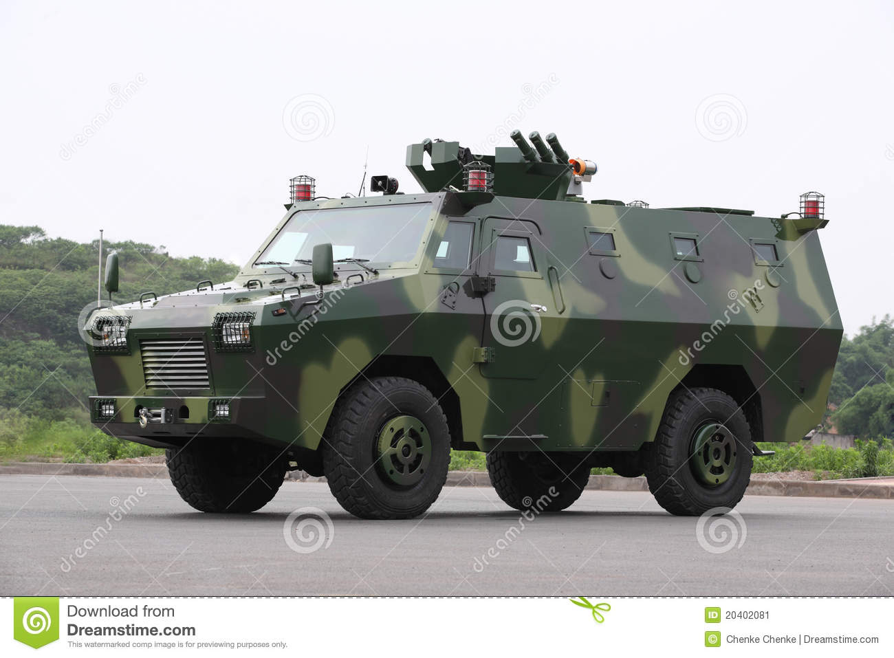 Armored vehicles