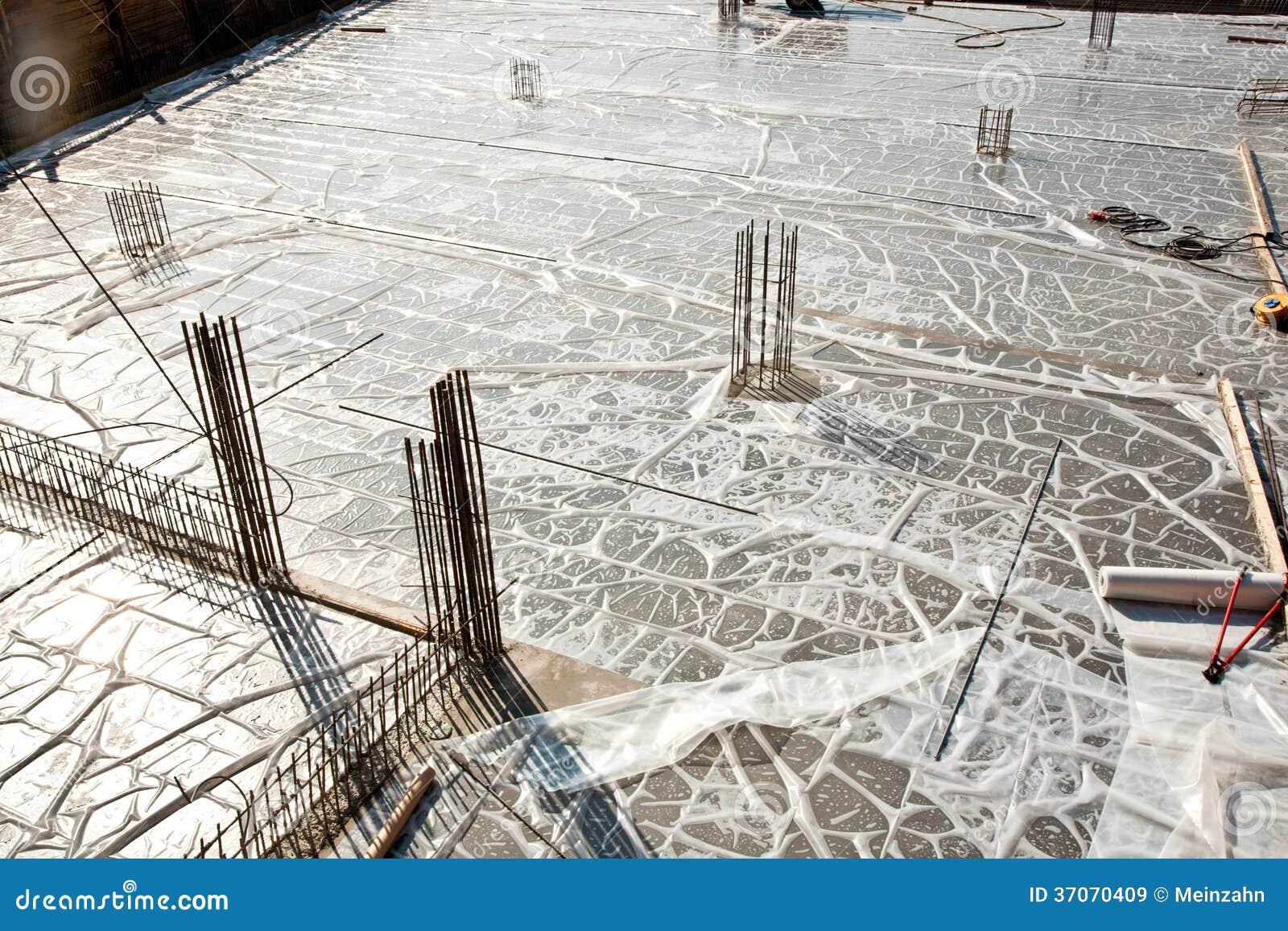 Armoring на строительной площадке