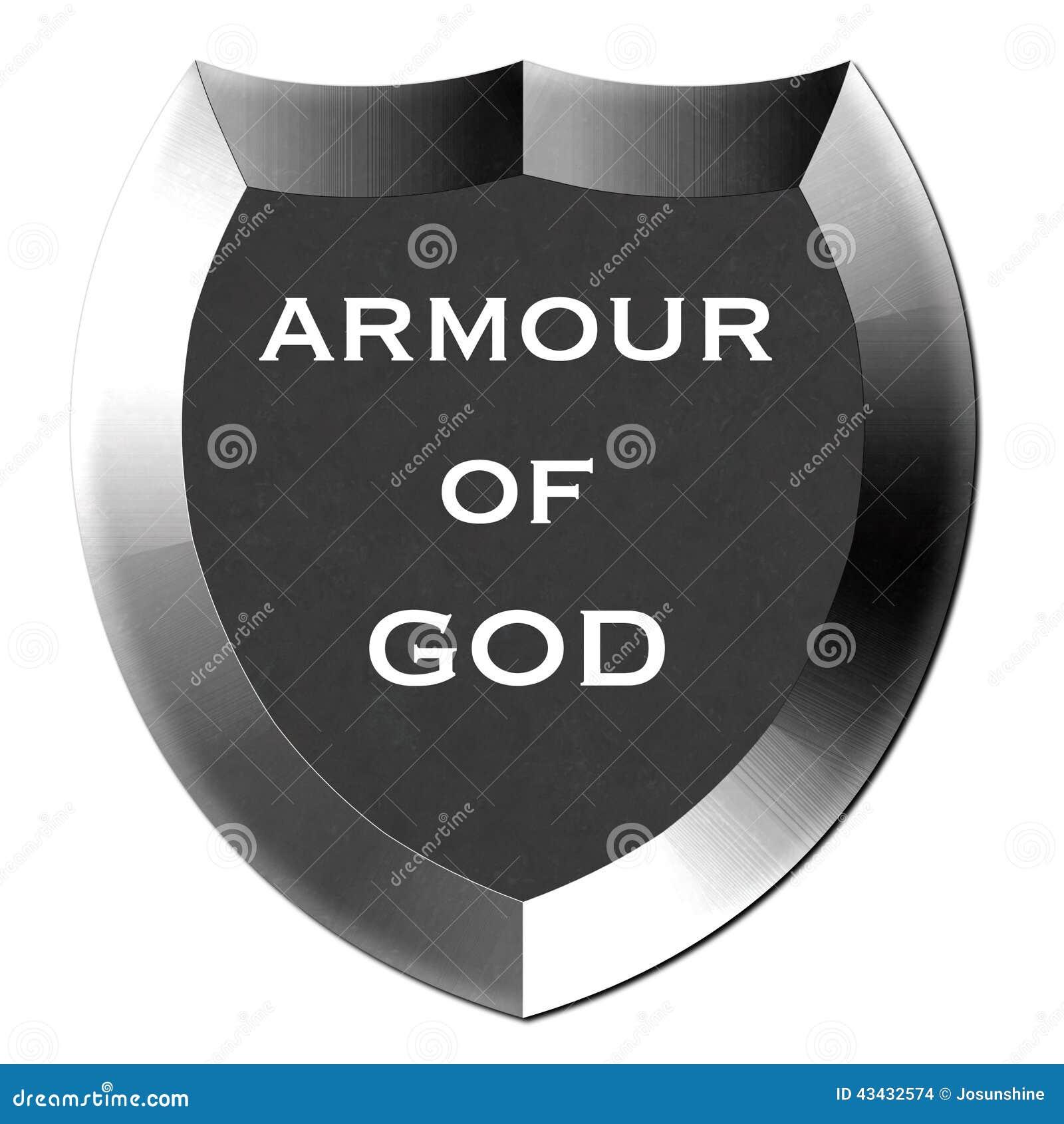 armour of god shield stock illustration image 43432574