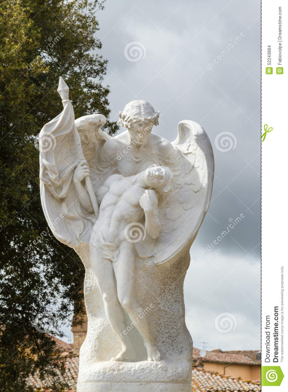 In The Arms Of An Angel Stock Photo Image Of Construction