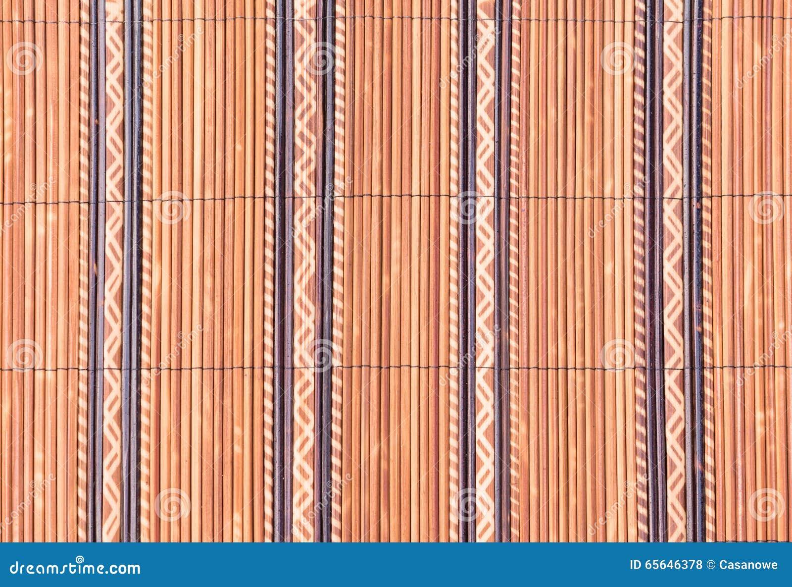 Armure de petite texture en bois en bambou pour le fond