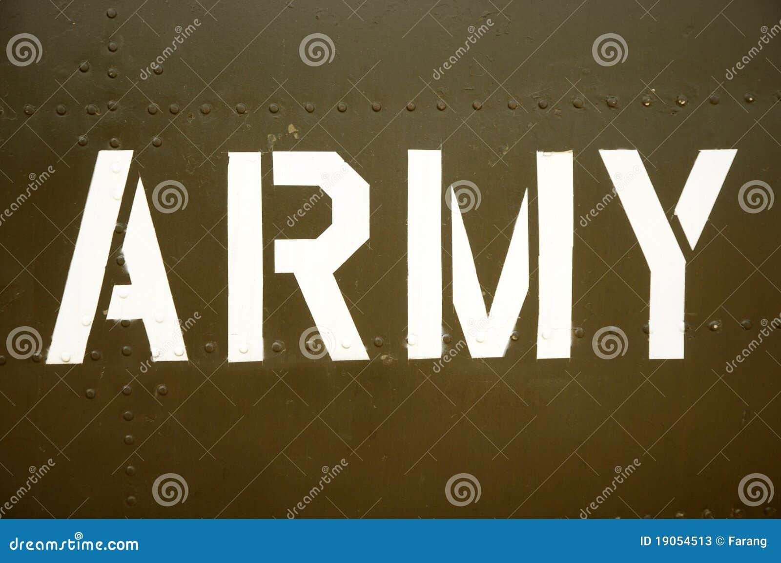 Army Stock Photos Image 19054513