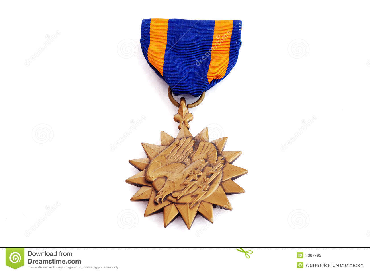 Royalty Free Stock Photo: Army Air Medal. Image: 8367995