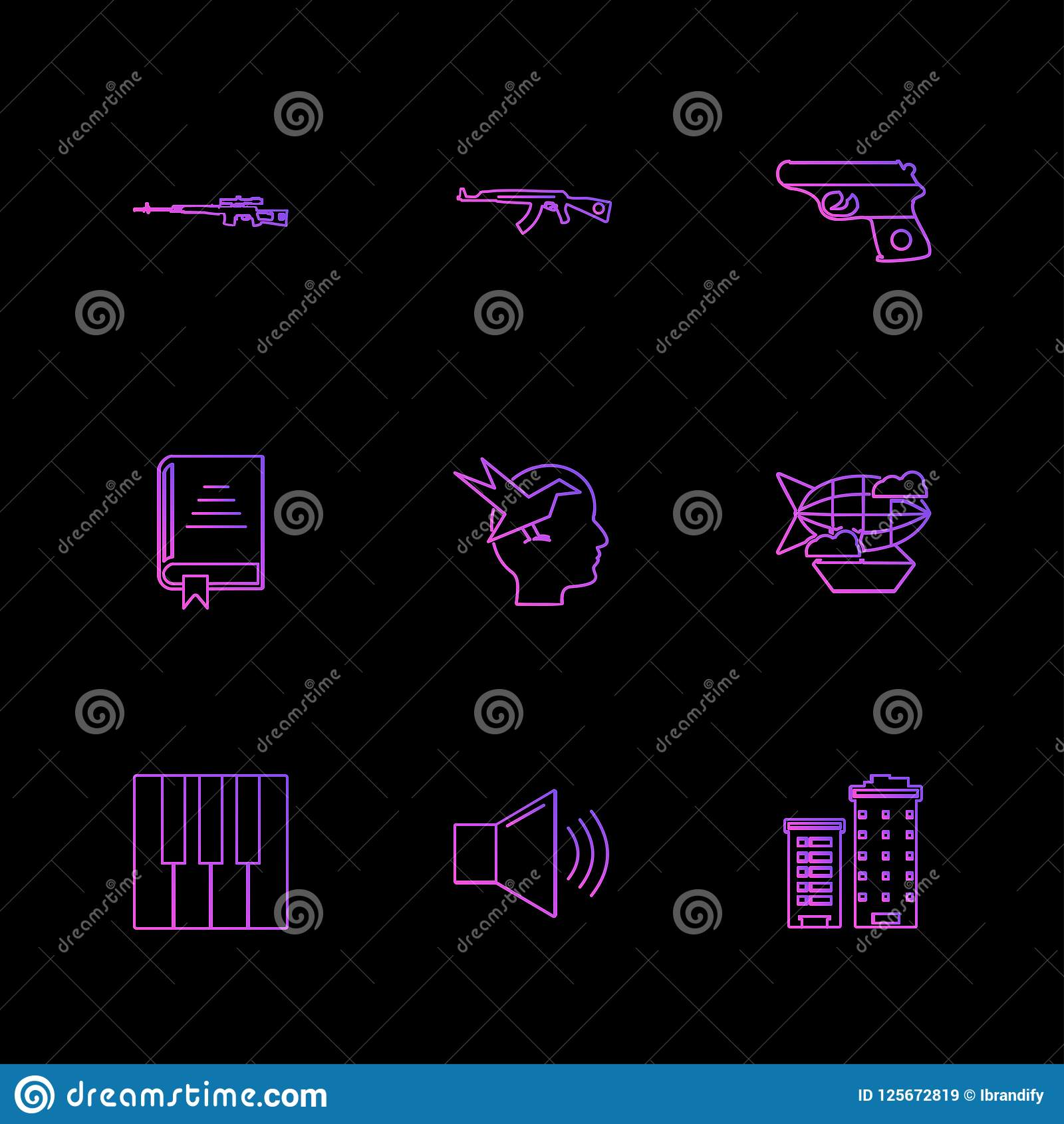Army ,  armour , tanks , guns , wars , eps icons set. Army ,  armour , tanks , guns , wars , rocket , missiles , helicopter, ships , boats , fighter plane Vector Illustration