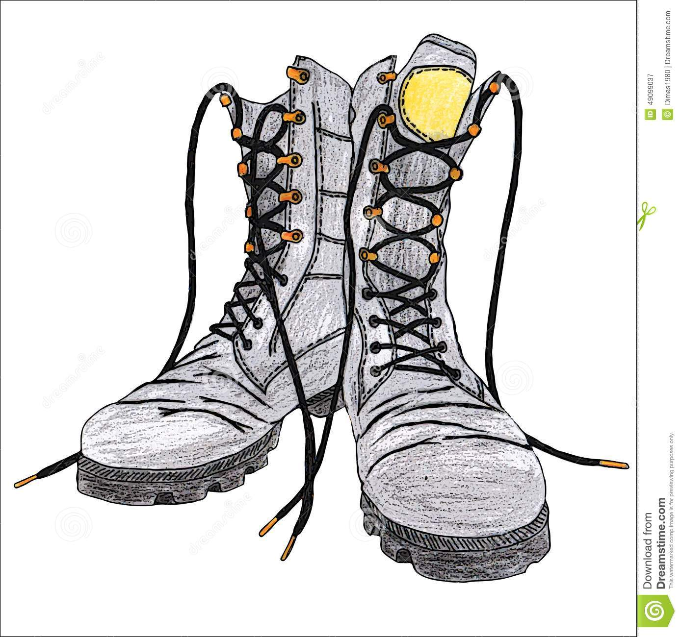 clipart of military boots - photo #43