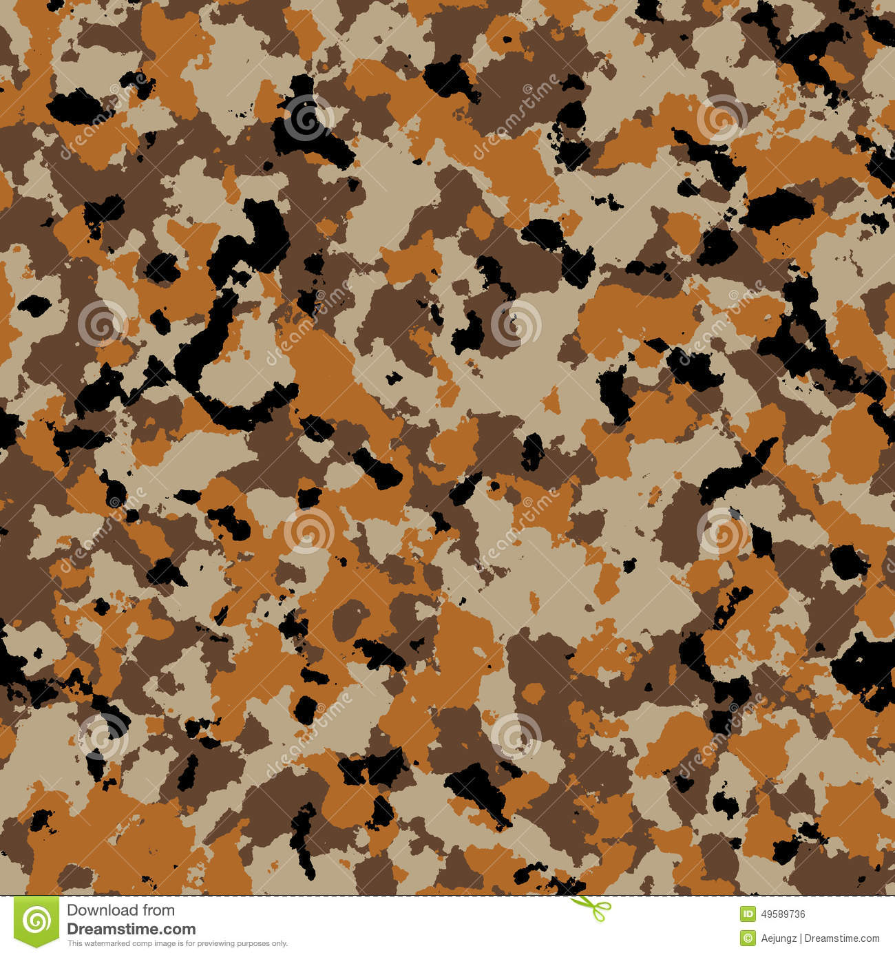 Army Desert Camouflage Pattern Background Stock ...