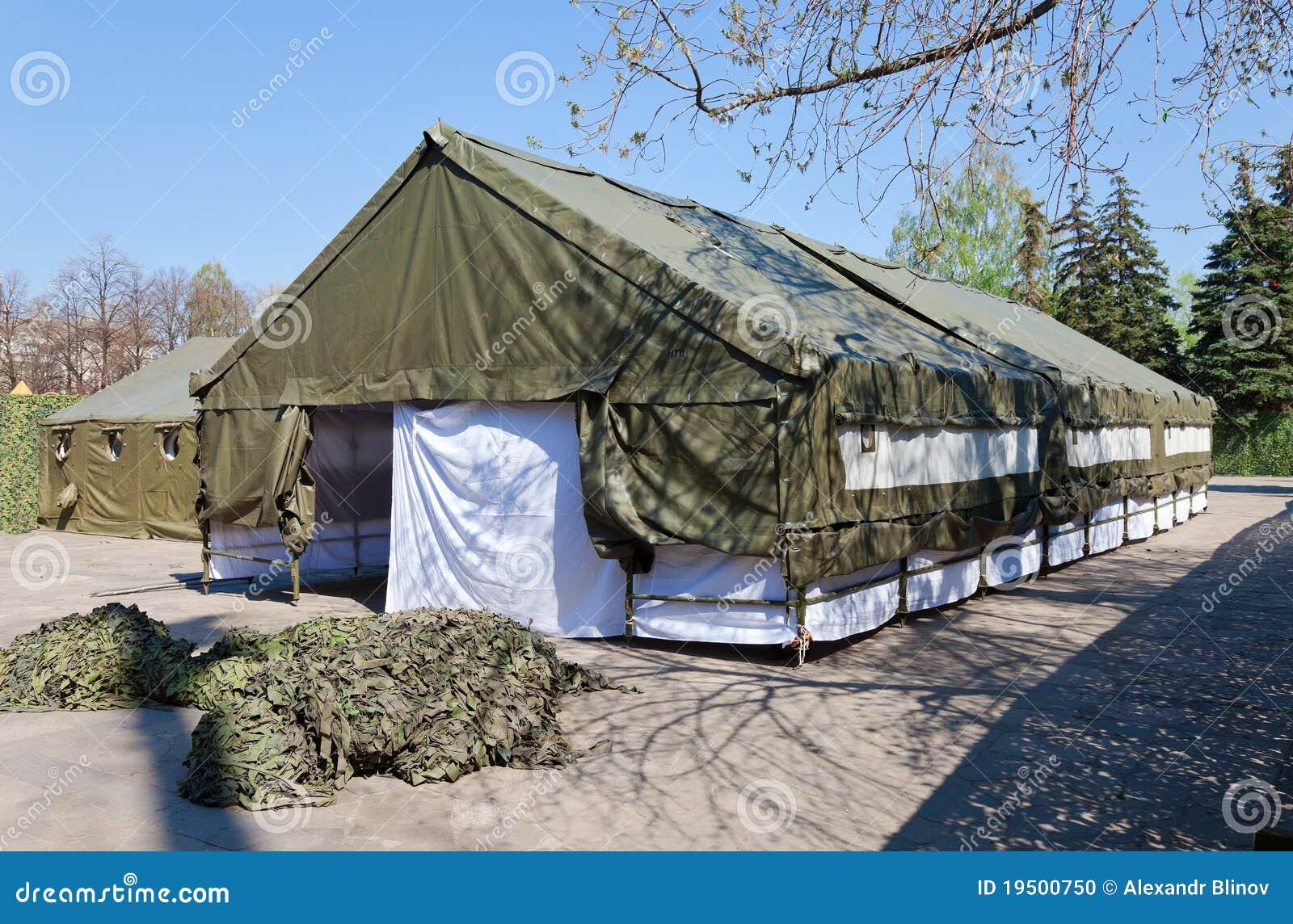 The Army expedition tents & The Army expedition tents stock photo. Image of camp - 19500750