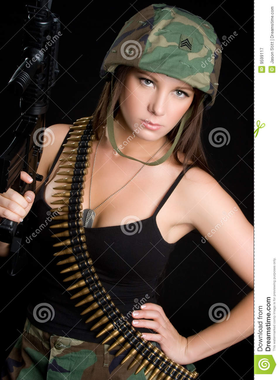 hot women in sexy military