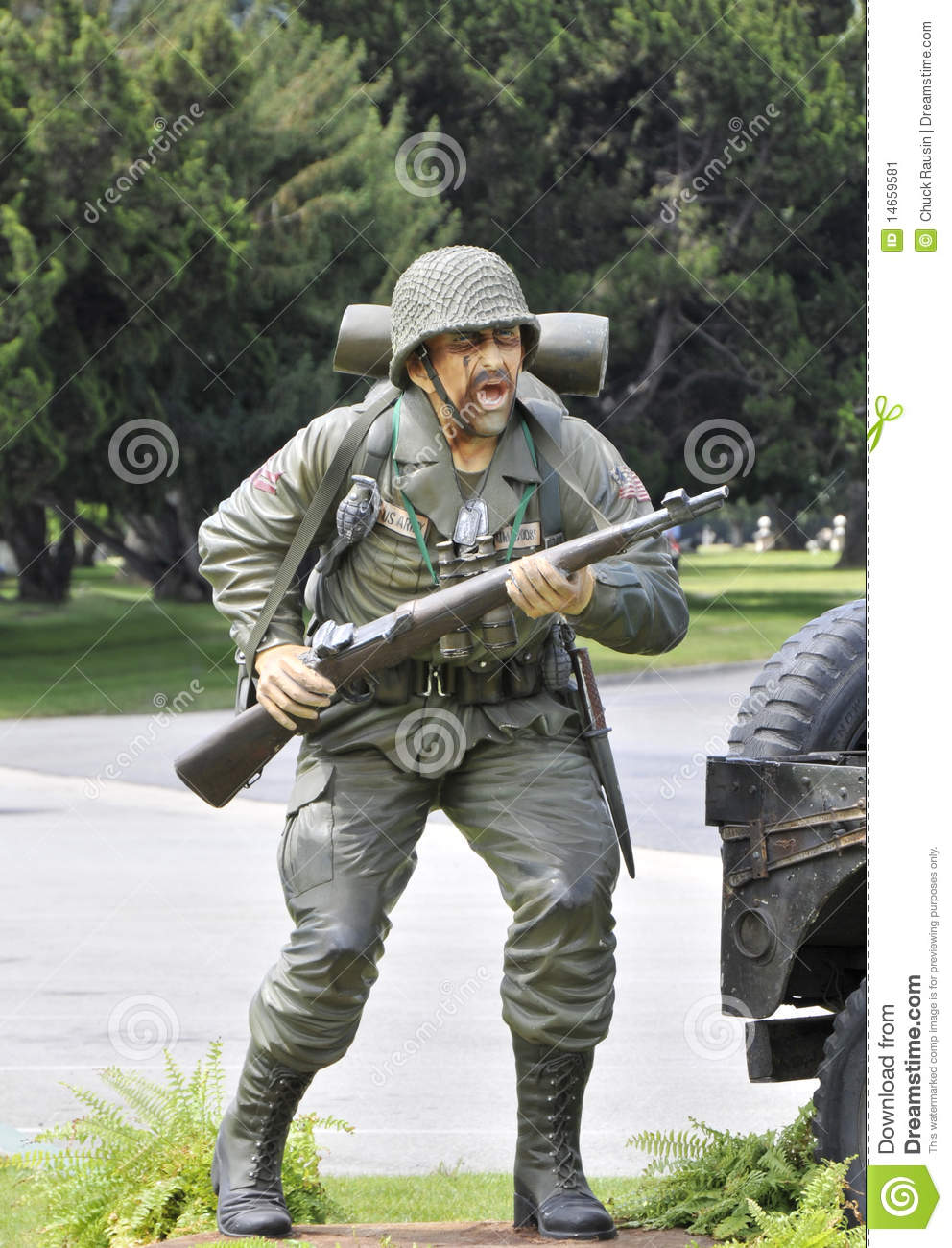 Army Infantry Soldier Stock Image Image Of Chair Sitting