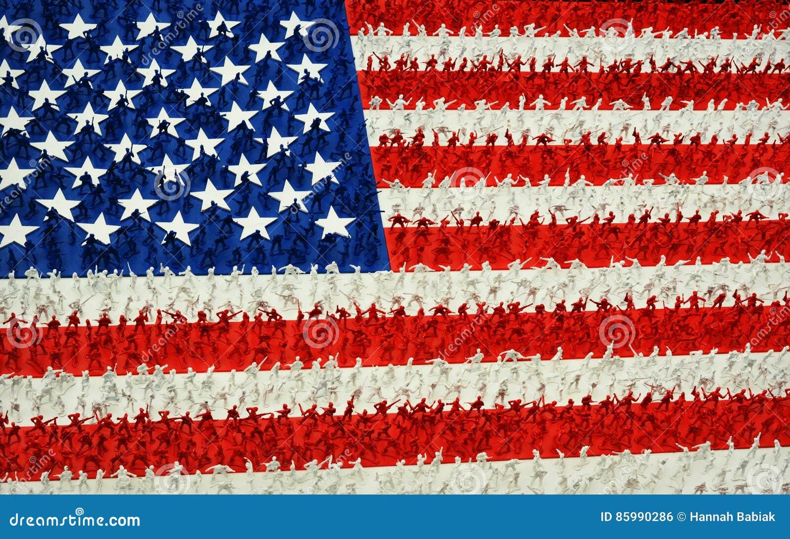 Army Men American Flag