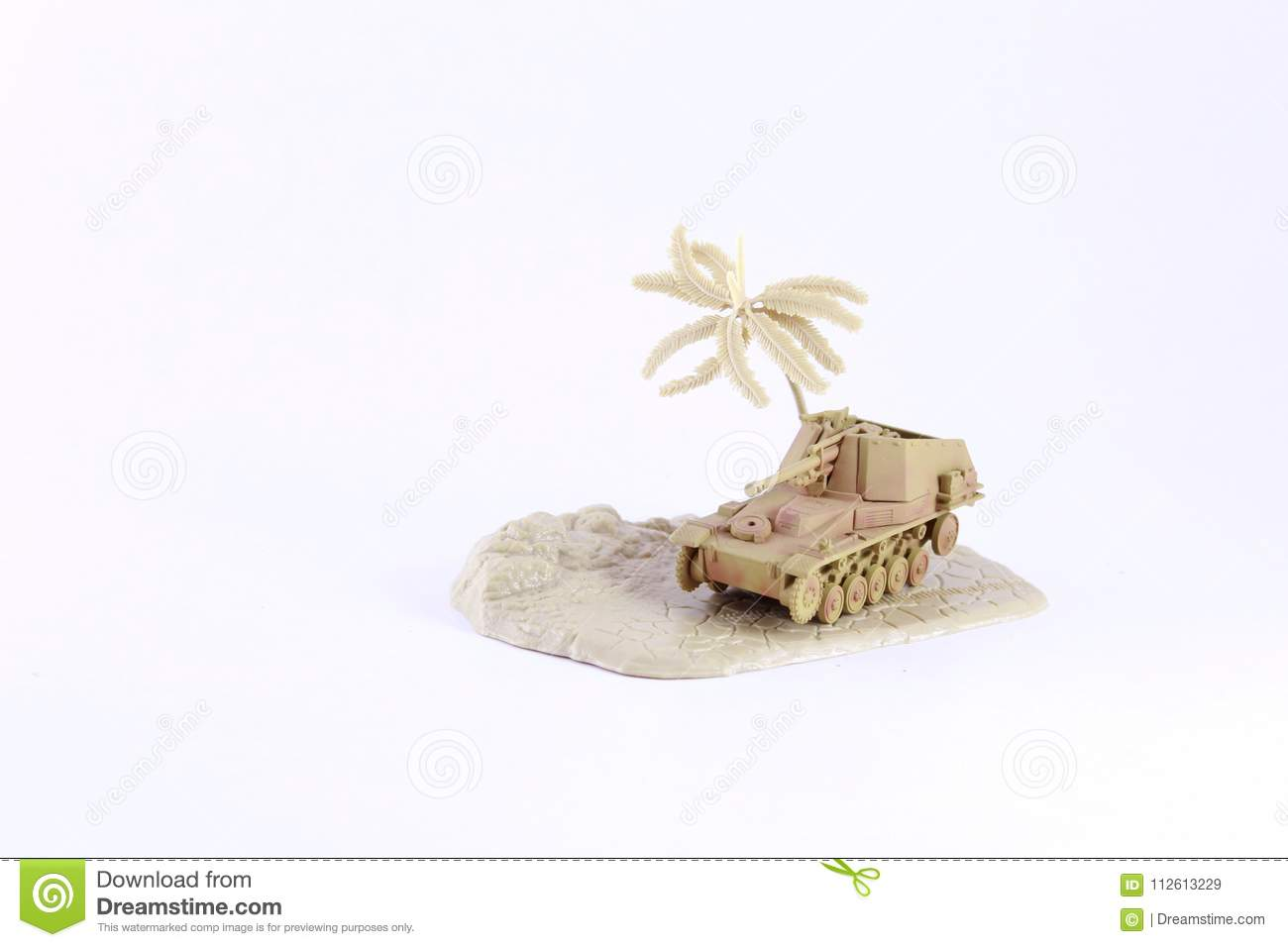 Army Military War Tank Model Stock Image - Image of armed