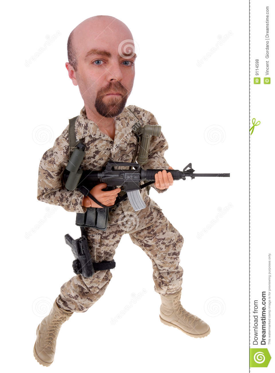Army Soldier Doll Stock Photo Image Of Human Battle