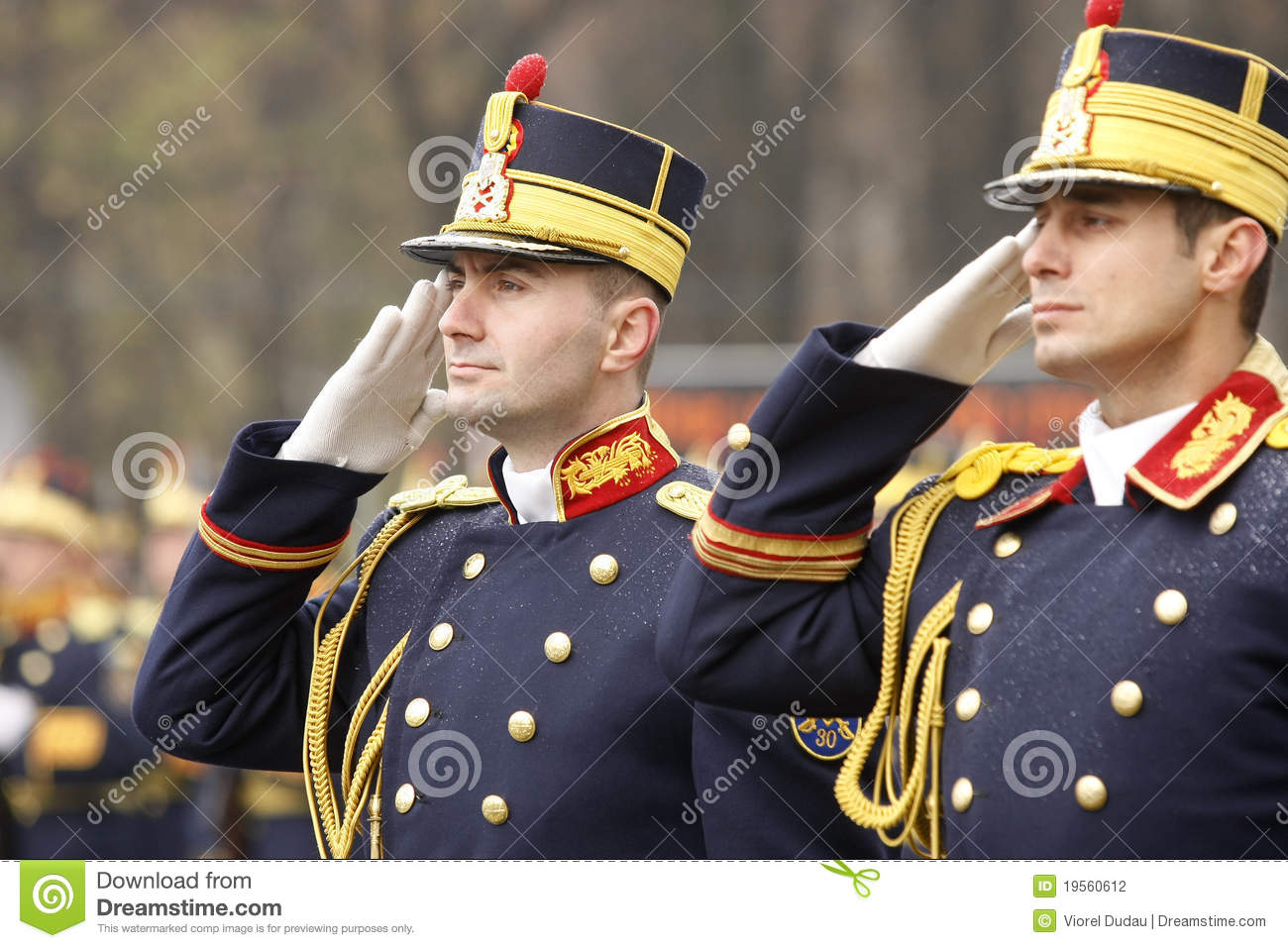 Army Soldiers Saluting Editorial Photography Image 19560612