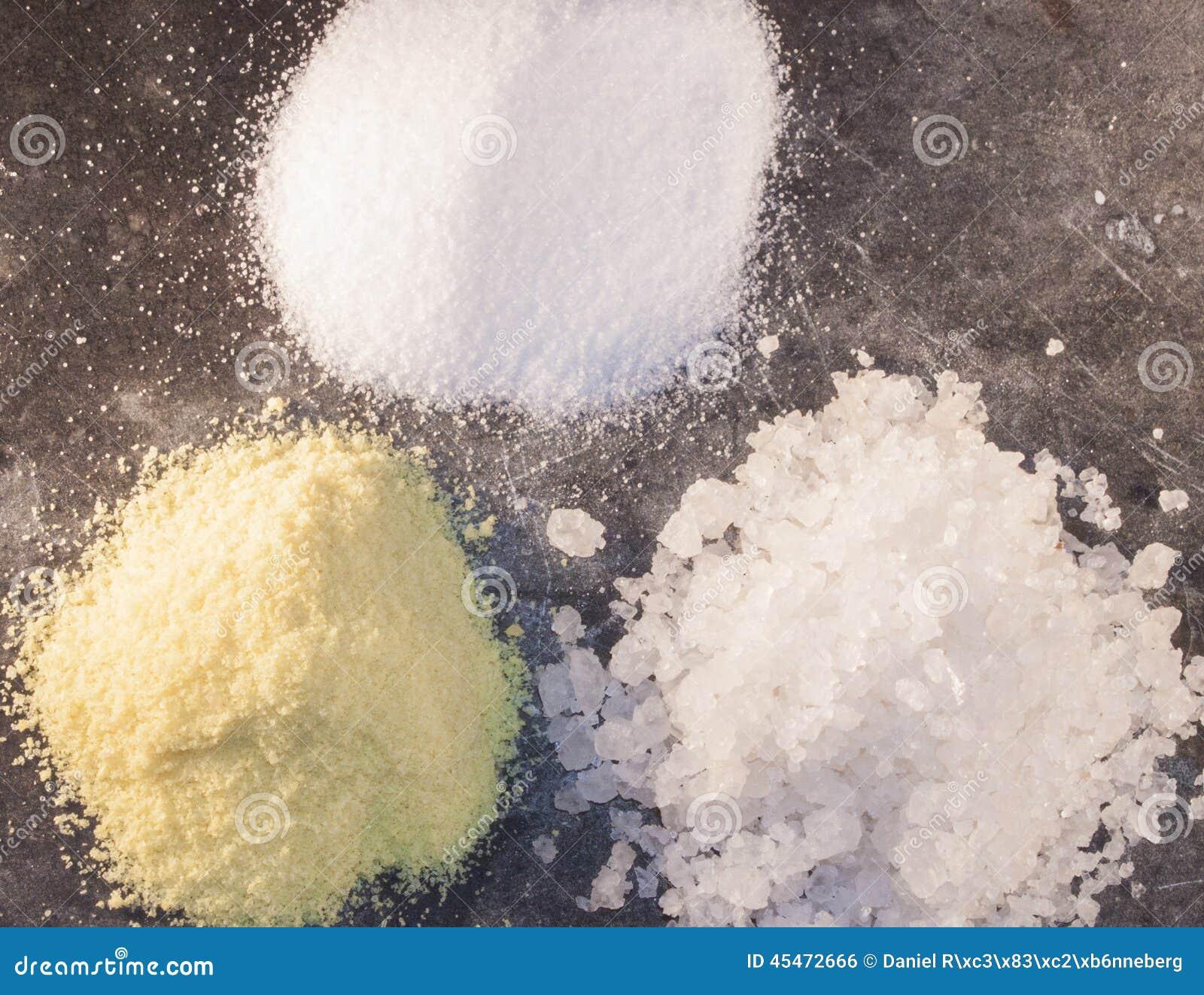 Aroma Rock And Ordinary Salt Stock Photo Image Of Sodium
