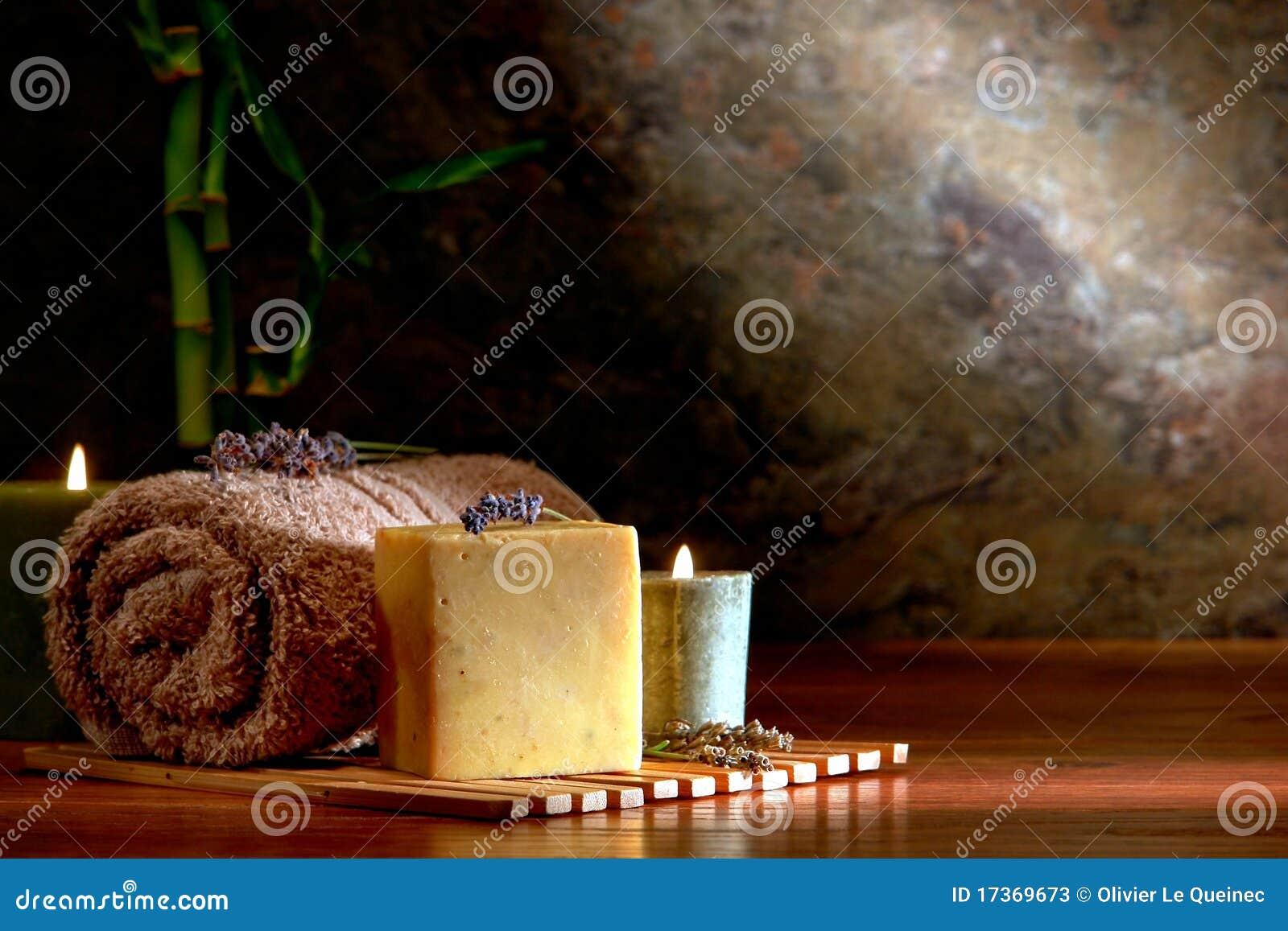 Aromatherapy φυσικό σαπούνι λουτρών