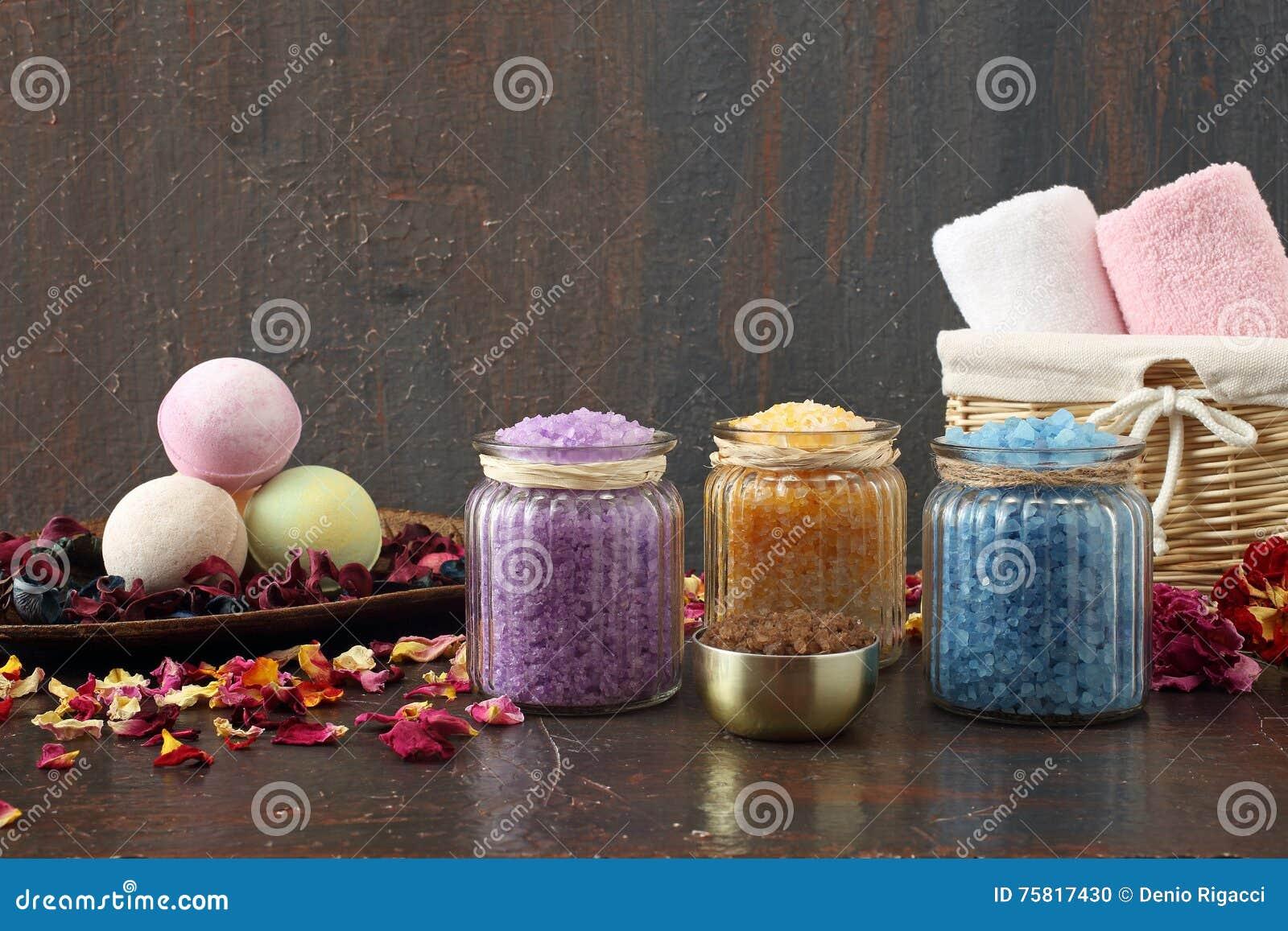 Aromatherapy asortowane kąpielowe sole