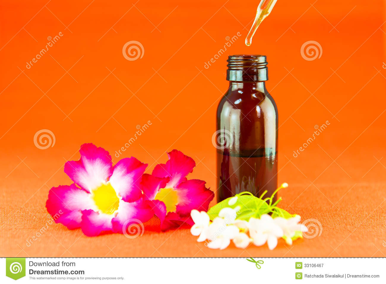 Aromatherapy Essential Oil Royalty Free Stock Photography