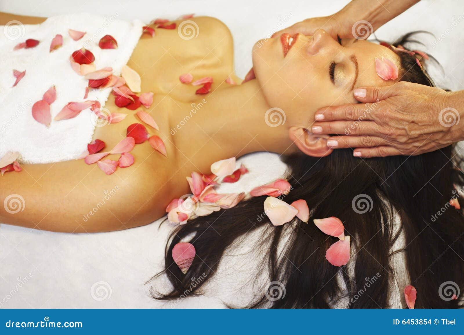 Aromatherapy masaż.
