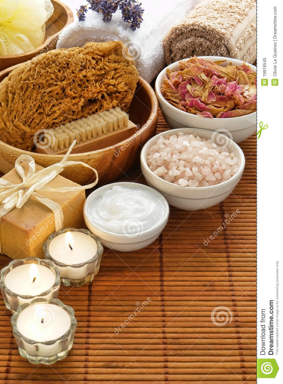 Aromatherapy and Relaxation Spa Body Care Products