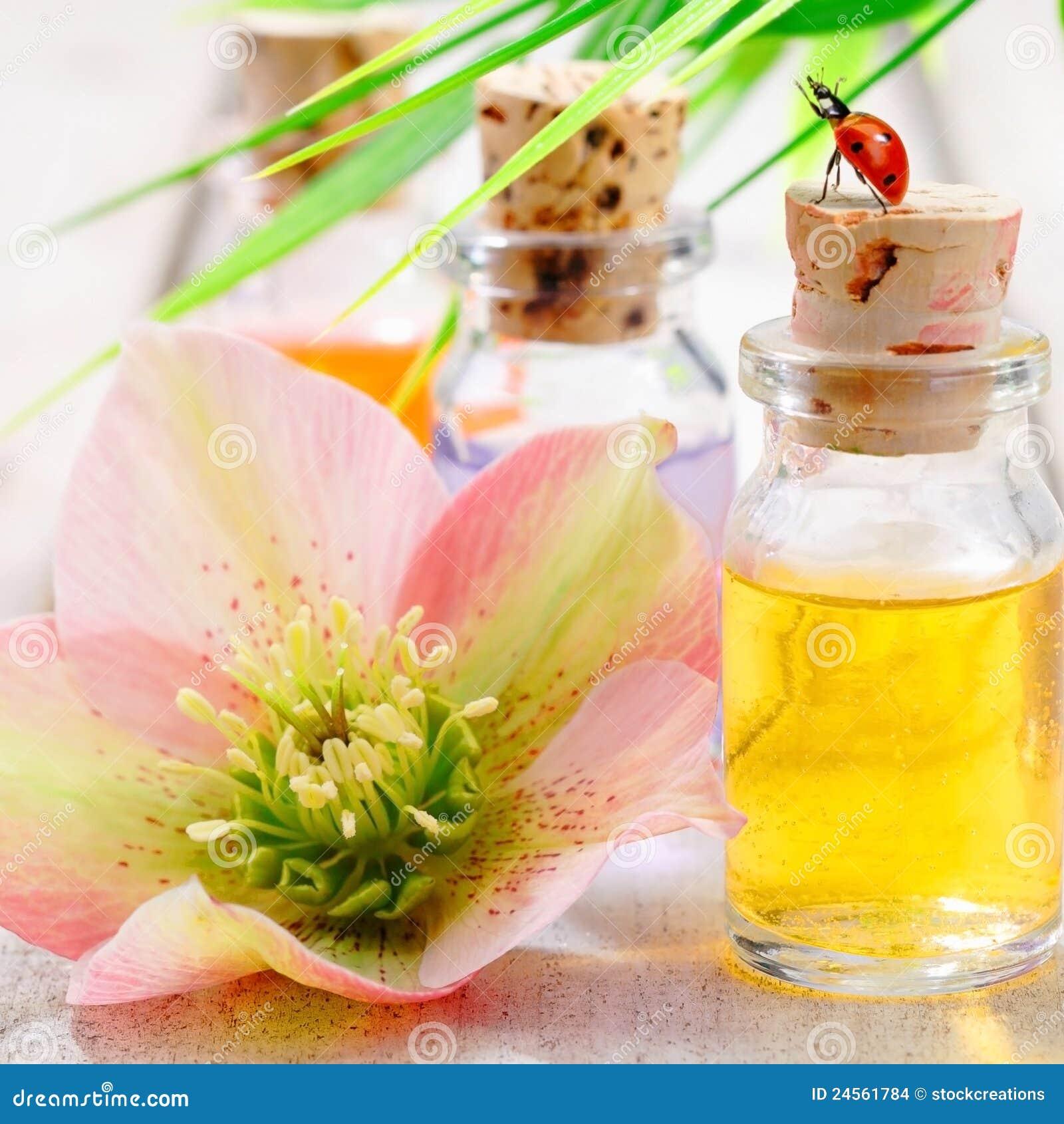 Aromatherapy Spa Threatment Stock Photo - Image of ...