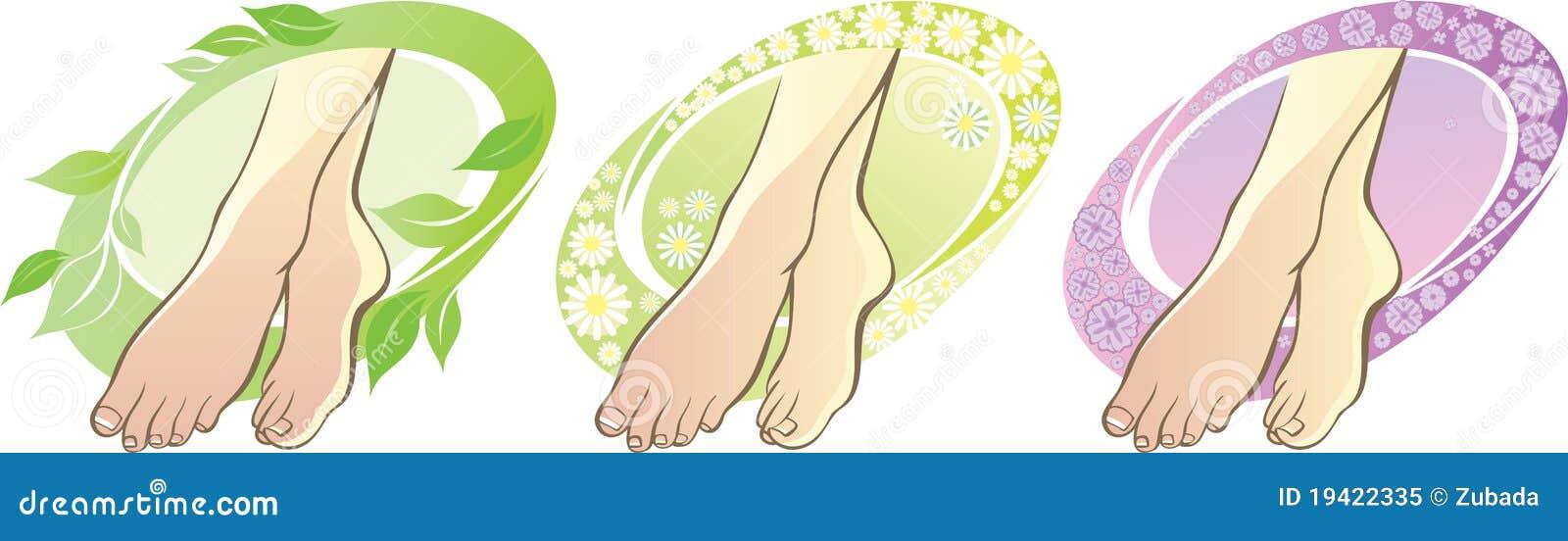 Aromatherapy voeten
