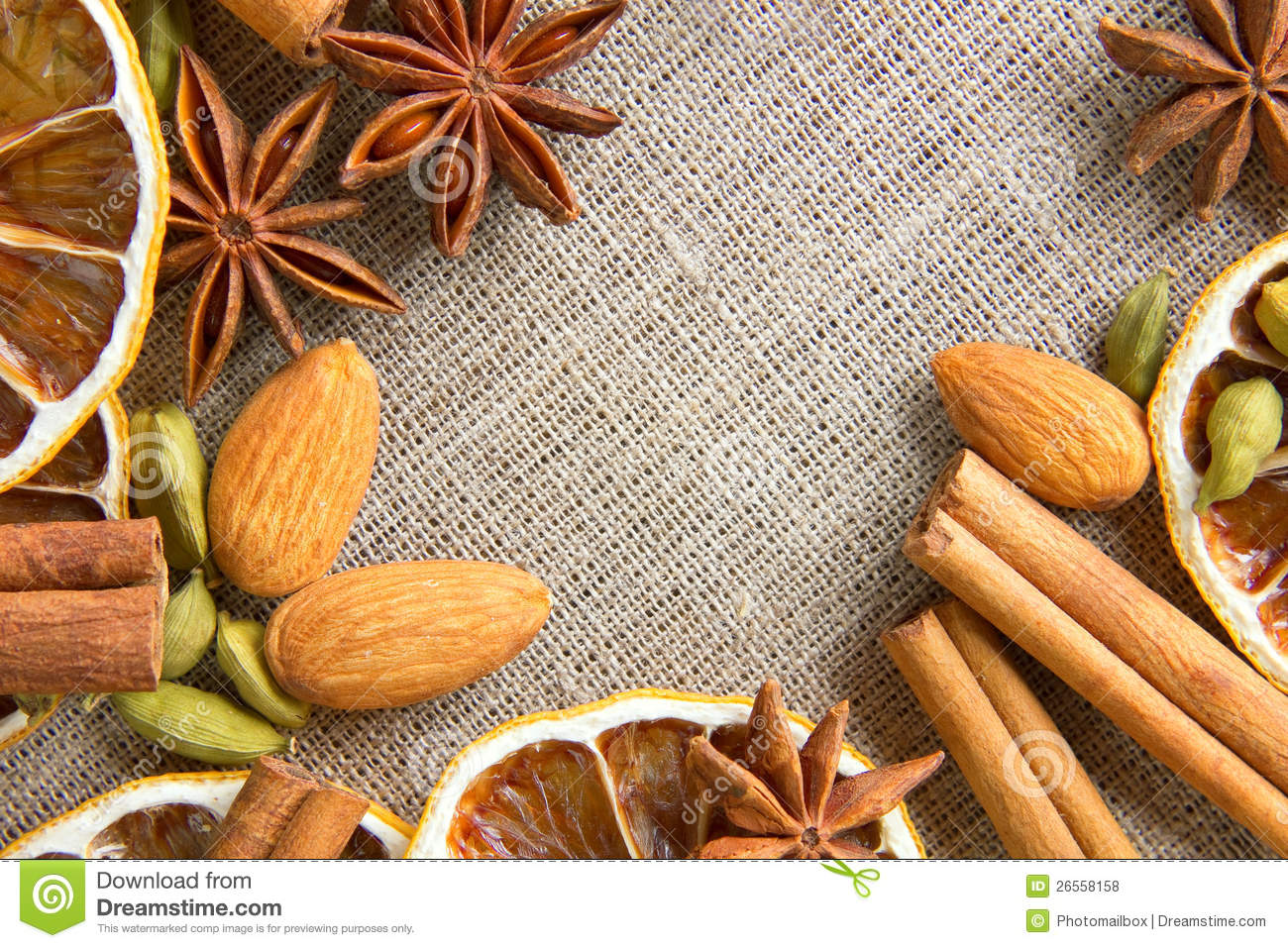 Aromatic Spices Background Stock Photo Image Of Cocoa