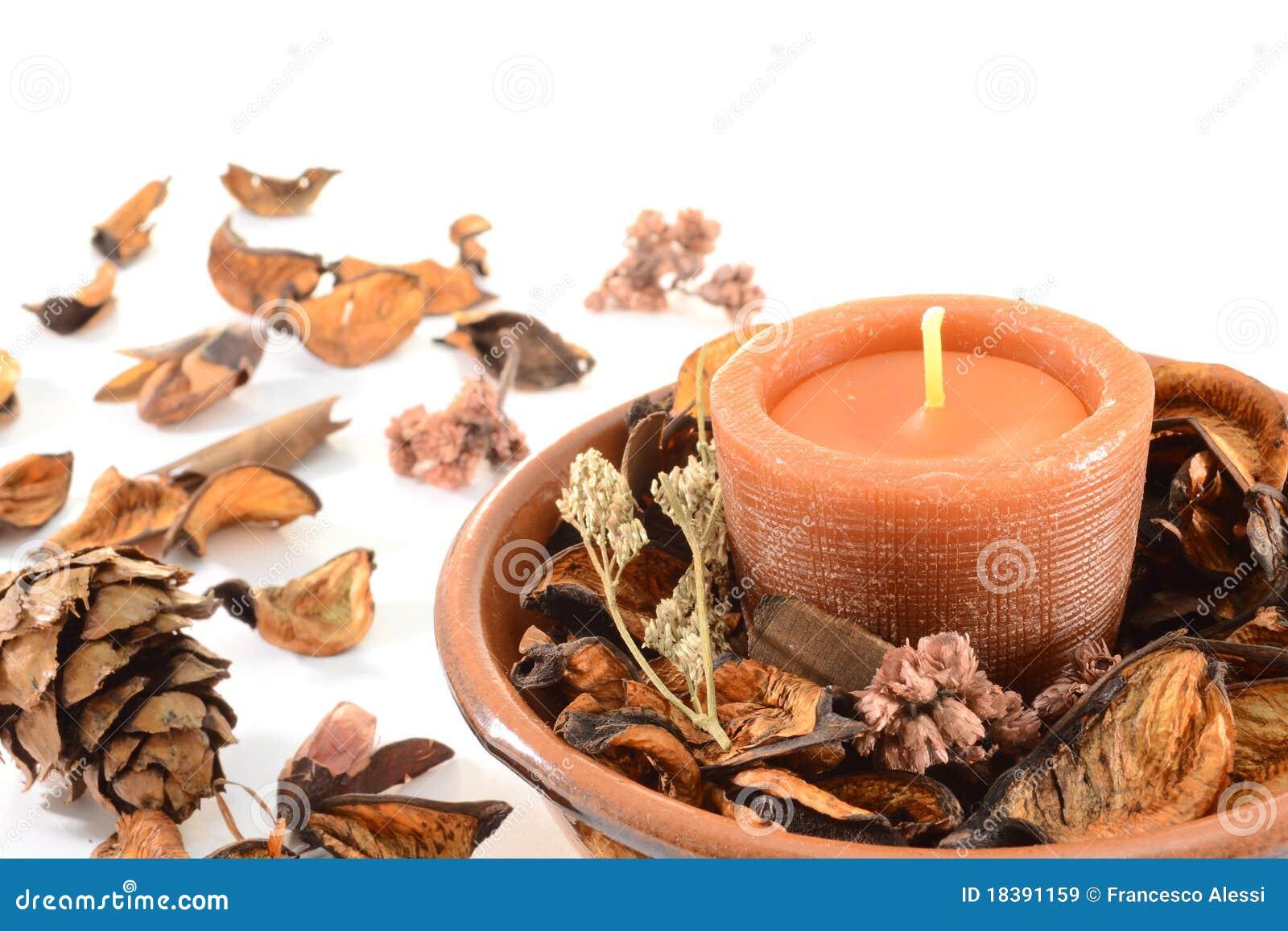 Aromatische Kerze