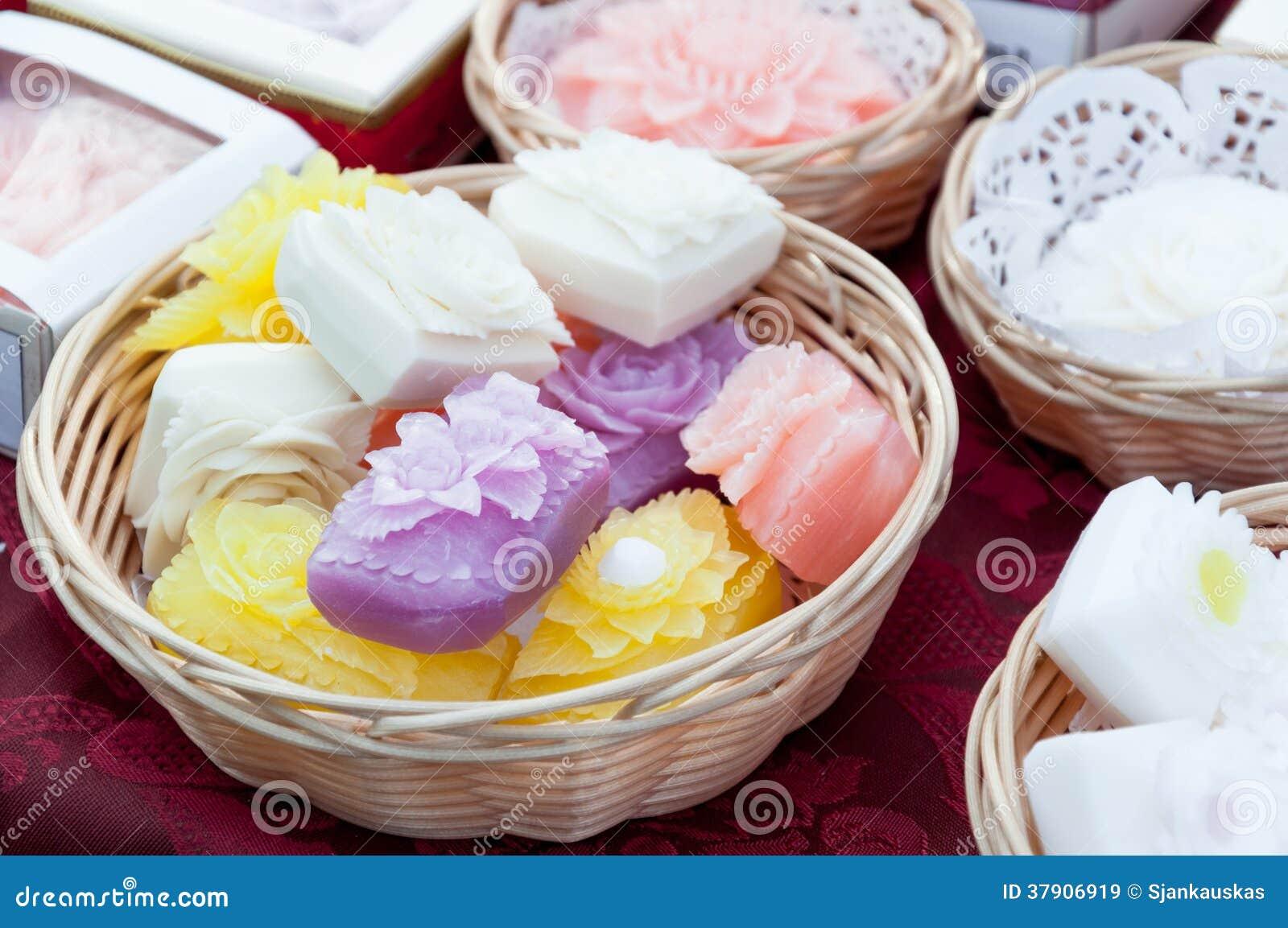 Aromatyczny handmade mydło